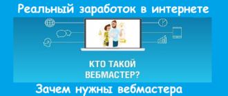 Зачем нужны вебмастера