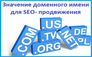 Значение доменного имени для seo